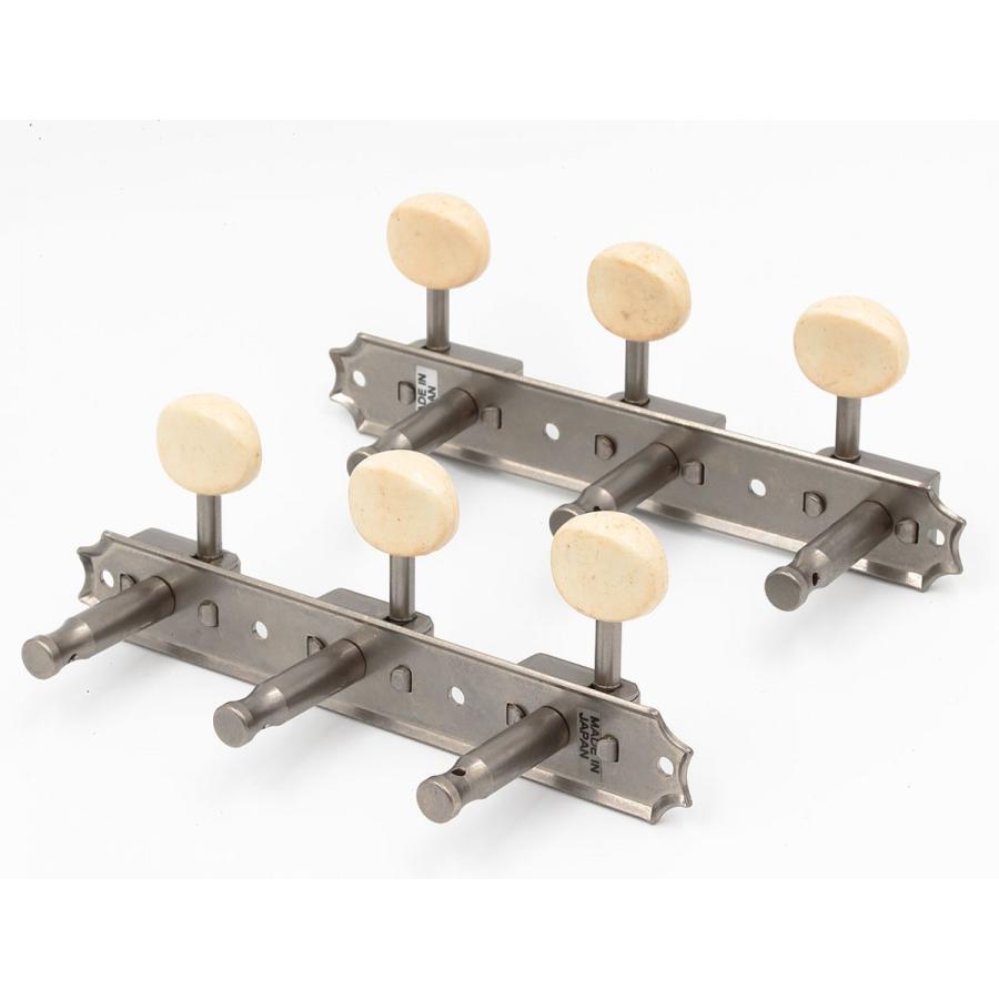 クルーソンタイプ3連ギターペグ/3SD-スタンダード軸(エイジドニッケル)|factorhythm|03
