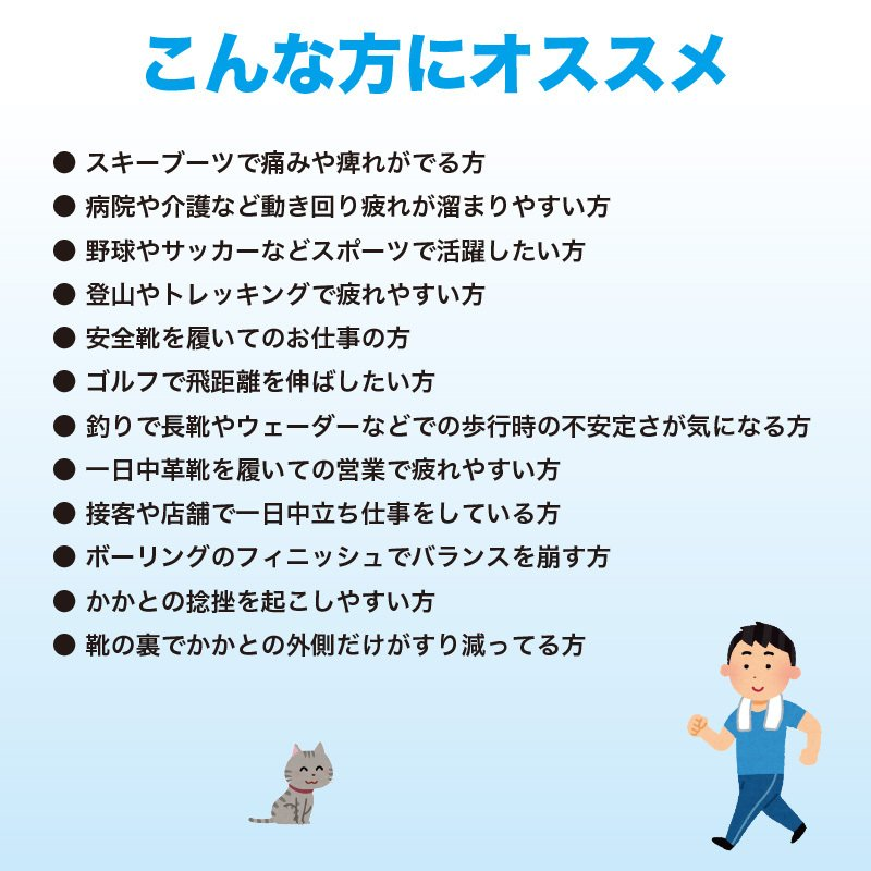 【特別価格】クワトロエース インソール ソフトバージョン メンズ 男性用 施工済み最新バージョン factory-are 10