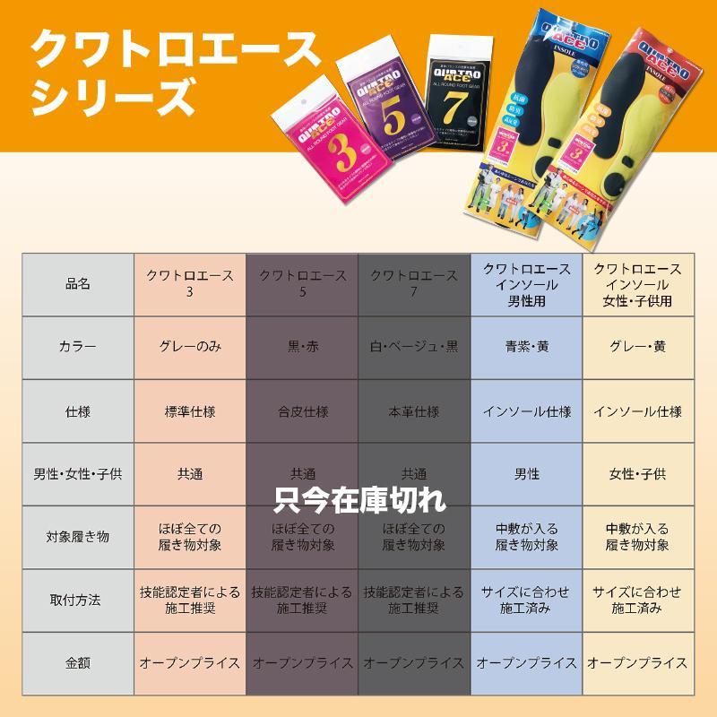 【特別価格】クワトロエース インソール ソフトバージョン メンズ 男性用 施工済み最新バージョン factory-are 11