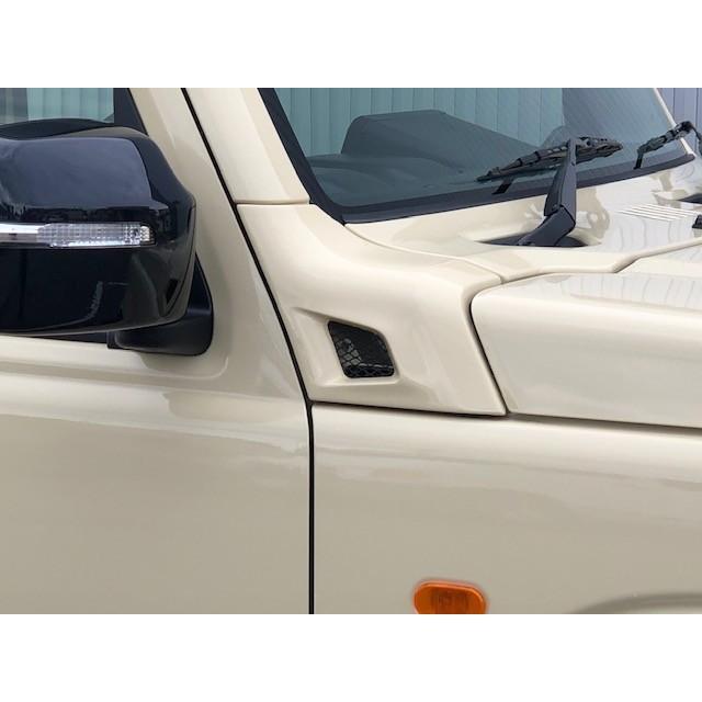 ジムニー JB64W JB74W カウリングサイドパネル タイプR 塗装済み商品  ファッドスター|fadstart49