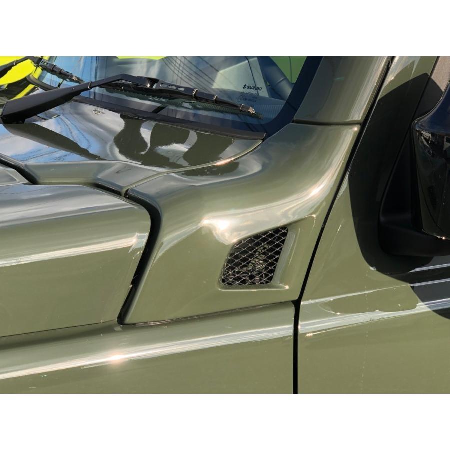 ジムニー JB64W JB74W カウリングサイドパネル タイプR 塗装済み商品  ファッドスター|fadstart49|05