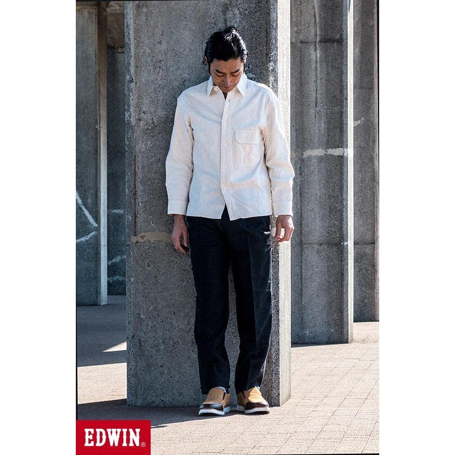 スリッポン スニーカー ビジネス シューズ カジュアル エドウイン EDWIN 本革靴 EDM91 限定品 軽量 オックス fairstone 15