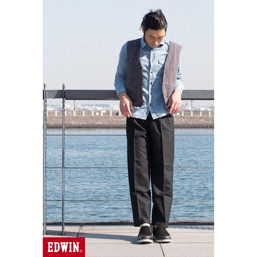 スリッポン スニーカー ビジネス シューズ カジュアル エドウイン EDWIN 本革靴 EDM91 限定品 軽量 オックス fairstone 18