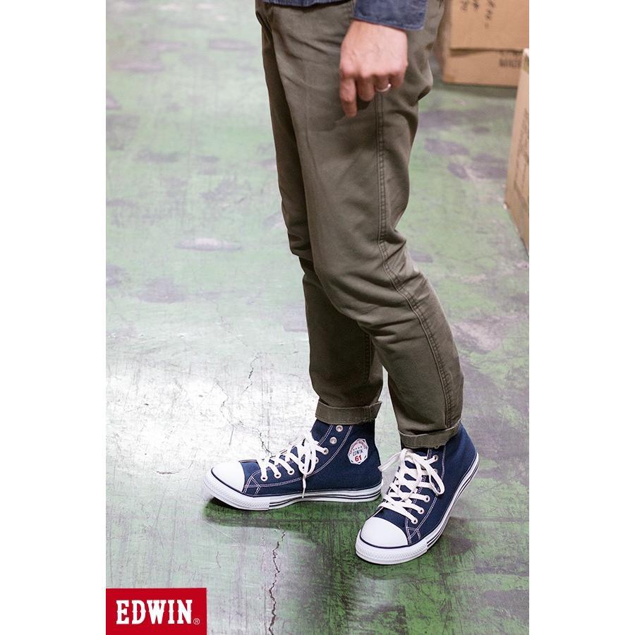 安全靴 スニーカー メンズ レディース セーフティーシューズ EDWIN エドウイン ハイカット 女性用 男性 ESM1620 fairstone 15