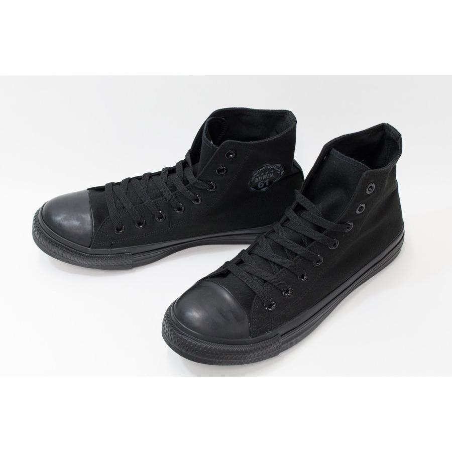 安全靴 スニーカー メンズ レディース セーフティーシューズ EDWIN エドウイン ハイカット 女性用 男性 ESM1620 fairstone 09
