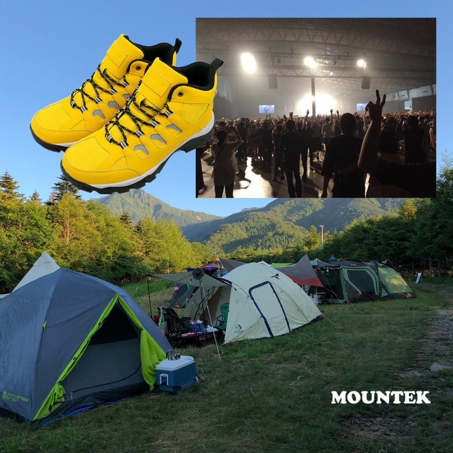 トレッキングシューズ 登山靴 レインブーツ 雨靴 メンズ レディース アウトドアシューズ ハイカット 防水 MOUNTEK mt1940 母の日 fairstone 06