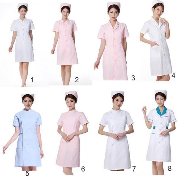 ナースウエア ワンピース 白衣 女性  作業着 看護 介護|fairydust|02