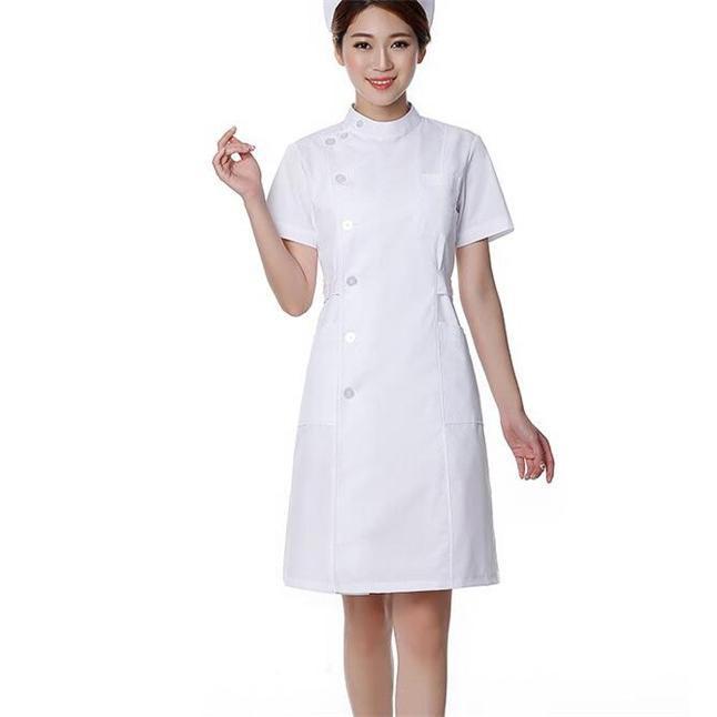 ナースウエア ワンピース 白衣 女性  作業着 看護 介護|fairydust|05