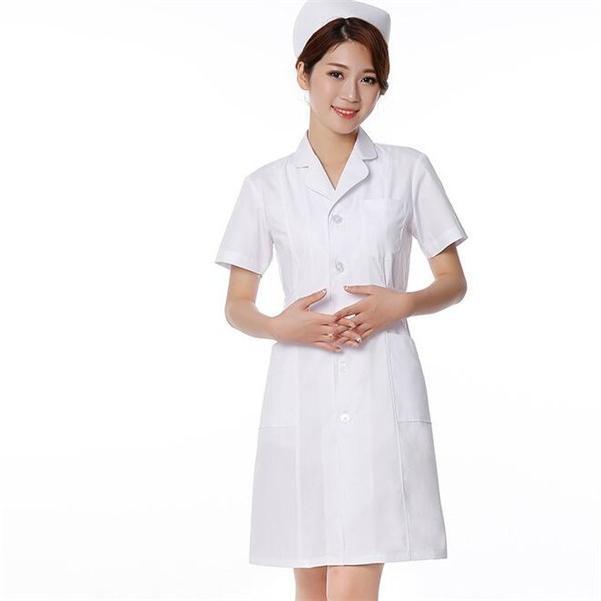 ナースウエア ワンピース 白衣 女性  作業着 看護 介護|fairydust|07