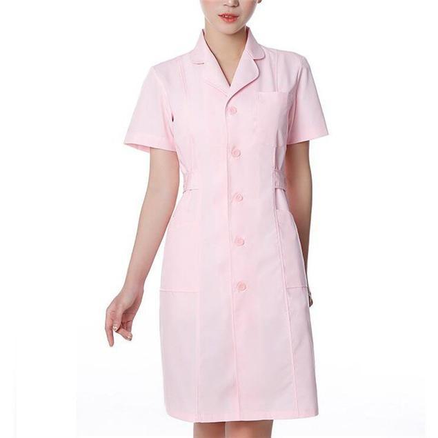 ナースウエア ワンピース 白衣 女性  作業着 看護 介護|fairydust|08