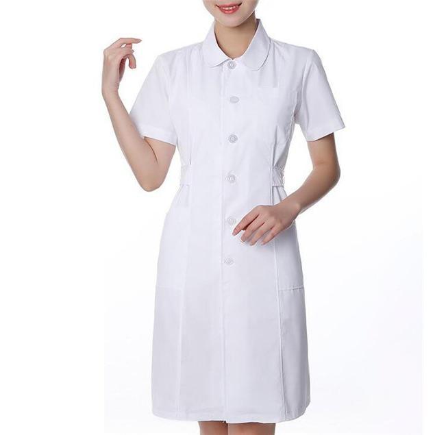 ナースウエア ワンピース 白衣 女性  作業着 看護 介護|fairydust|09