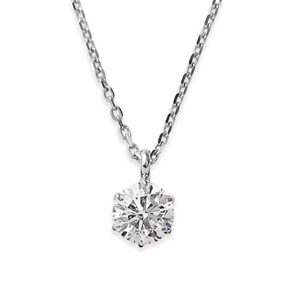 最安値で  ダイヤモンド ネックレス シンプル 一粒 K18 ホワイトゴールド 0.1ct ダイヤネックレス ネックレス シンプル 0.1ct ペンダント, カワソエマチ:502b7aa3 --- airmodconsu.dominiotemporario.com