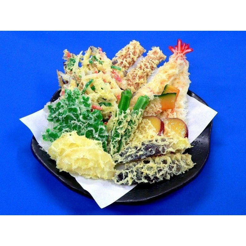 天ぷら盛合せ 3 食品サンプル fakefoodjapan