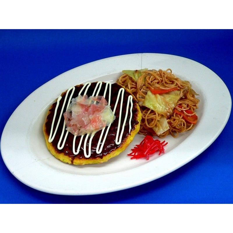 お好み焼き&焼きそば ペアセット 食品サンプル fakefoodjapan
