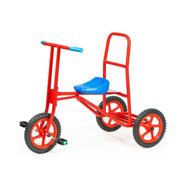 スーパー三輪車DX 大型三輪車 特別支援、養護、機能訓練、保育園、幼稚園、施設、公共、商業、乗用遊具、園庭、大型
