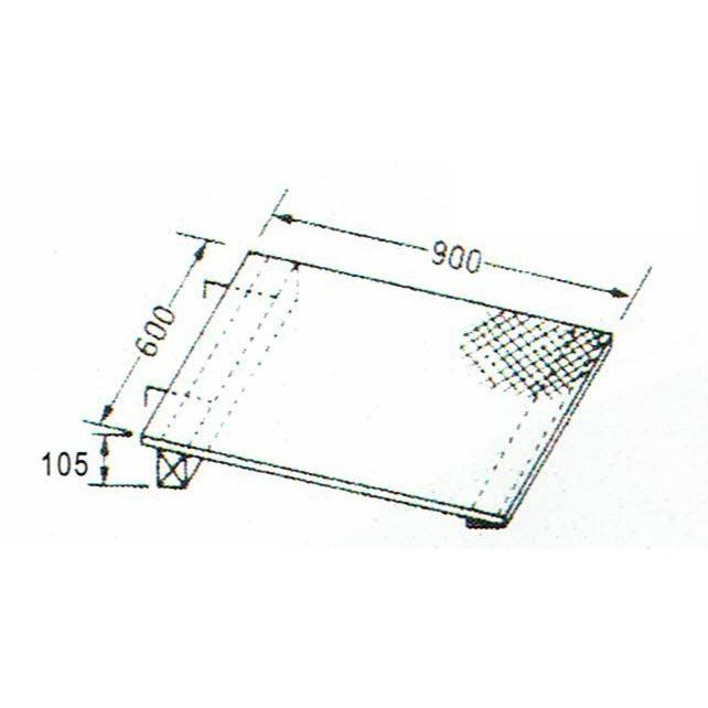 巧技台ワイド用バラ売り ワイド斜面板(カーペット張り)  送料無料