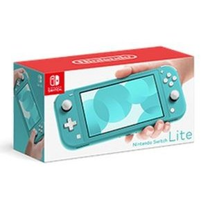 (Switch)Nintendo Switch Lite ターコイズ(新品)液晶フィルムプレゼント