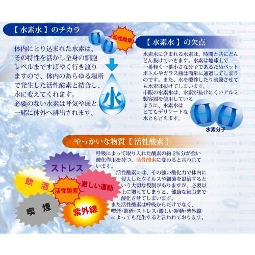 元気の水 マグスティックmini 水素水生成器(送料無料・ネコポス対応・代引不可)|family-tools|03