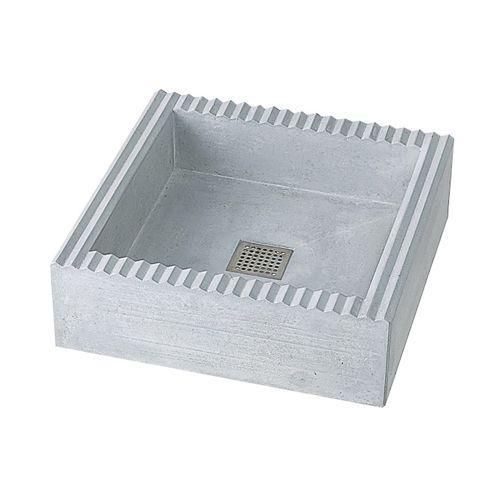 NIKKO パン単体 クレスパン ※ ニッコー コンクリート シンプル 水受け 洗い場 屋外 パン ※