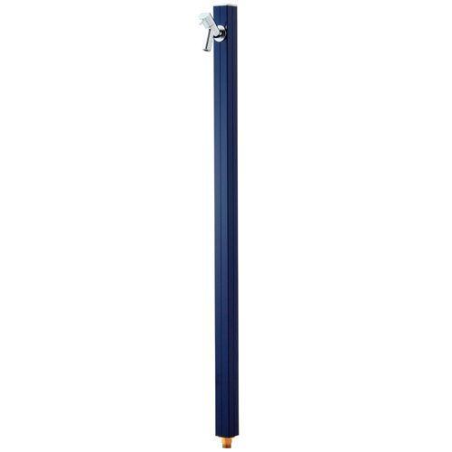 立水栓 アクアルージュ蛇口付 TK3-SKN (ネイビー) ※ スリム 水栓 角柱 屋外 ステンレス ※