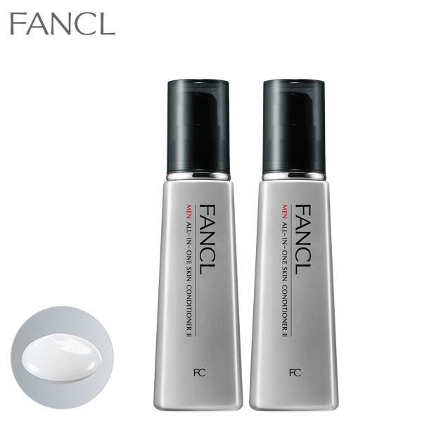メン オールインワン スキンコンディショナー II しっとり 2本 化粧品 数量限定 化粧水 メンズ 激安 ファンケル 公式 男性 オールインワンジェル FANCL