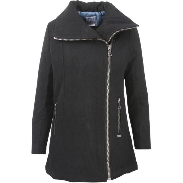 特別価格 ルーカ レディース アウターウェア ジャケット/アウター RVCA Women Rellics Jacket (black), やまぐちけん ecdf59b1