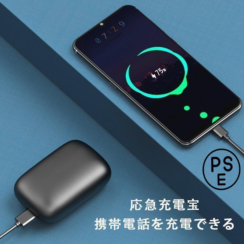 ワイヤレスイヤホン bluetooth5.0 骨伝導 片耳 無痛装着 高音質 ブルートゥースイヤホン スマホ ブルートゥース スポーツ イヤホンケース iphone12対応 おすすめ|fantashop|11