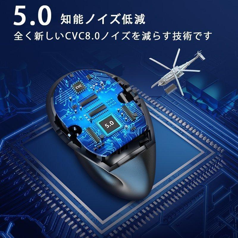 ワイヤレスイヤホン bluetooth5.0 骨伝導 片耳 無痛装着 高音質 ブルートゥースイヤホン スマホ ブルートゥース スポーツ イヤホンケース iphone12対応 おすすめ|fantashop|09