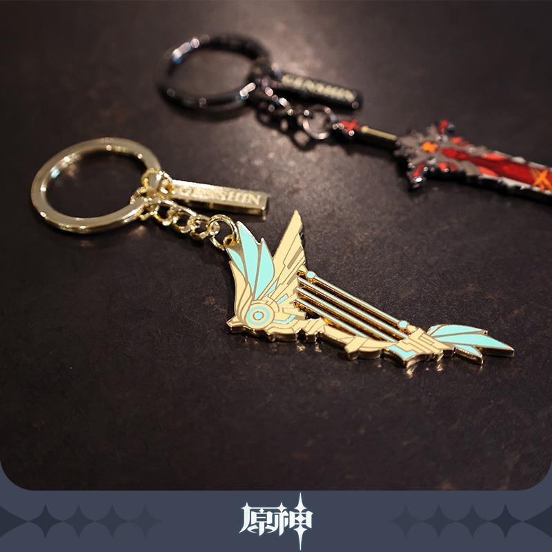 【原神】公式グッズ 神鋳賦形シリーズ武器金属キーホルダー Genshin fantasyvillage 03