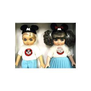 マリーオズモンド アドラ・ボー&ベル ミッキーマウスクラブ ドール 人形セット ディズニー