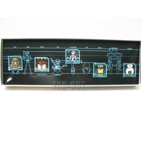 ディズニー ロボット ピンズ 5点 ボックス入りセット