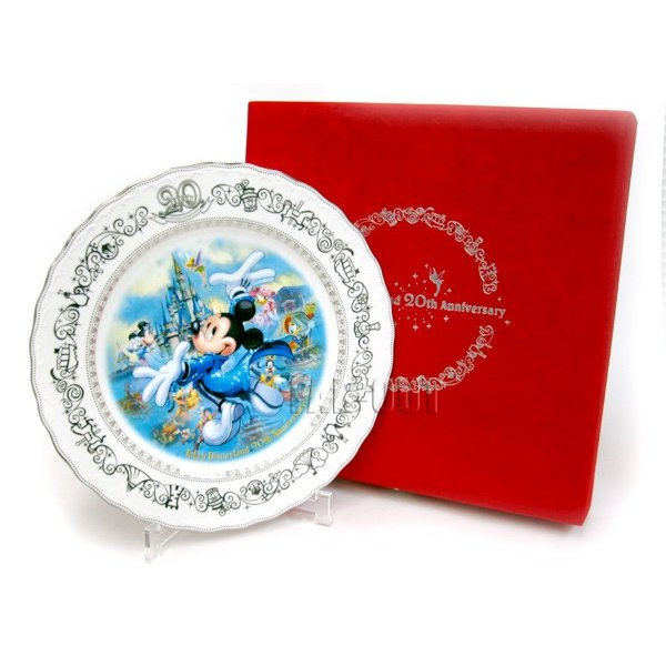 TDL 20周年記念 2003年 プロモーション ラージプレート 絵皿 ディズニー 【セール】