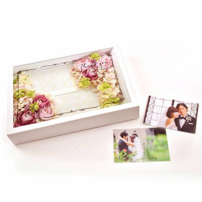 結婚式 贈呈品 / フォトフレームフラワー子育て感謝状 / 両親へのプレゼント|farbe|08