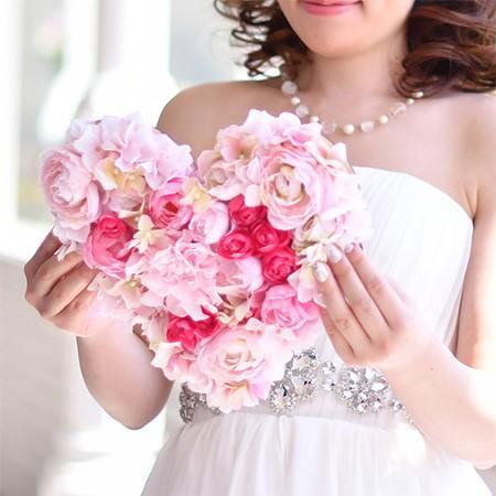 結婚式 贈呈品 / 花嫁の手紙 木製レーザー刻印「ハートフラワー」 / 両親へのプレゼント 手紙|farbe