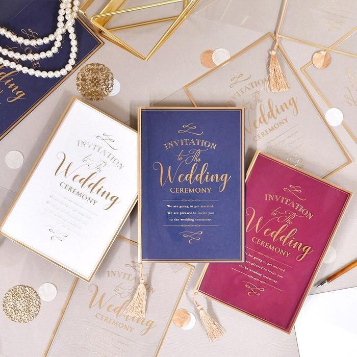 結婚式 招待状 / 「クレール」招待状完成品(入力印刷込) / 完成品 オーダー|farbe