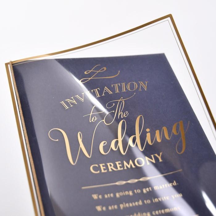 結婚式 招待状 / 「クレール」招待状完成品(入力印刷込) / 完成品 オーダー|farbe|03
