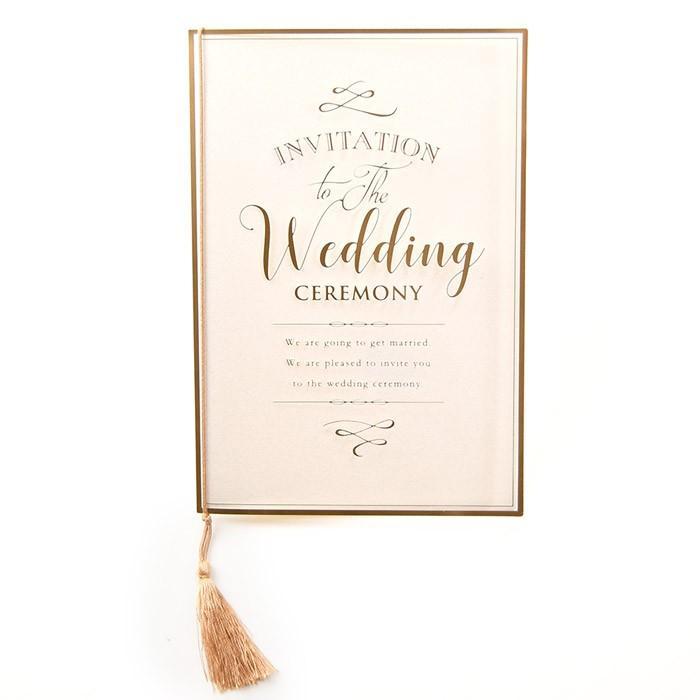 結婚式 招待状 / 「クレール」招待状完成品(入力印刷込) / 完成品 オーダー|farbe|10