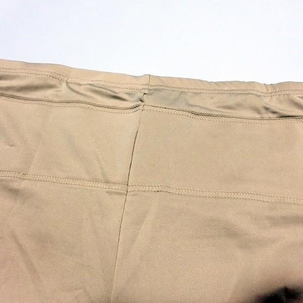 婦人/レディース 美レギ お腹・骨盤すっきりサポート 1分丈シェイプレギンス ブラック/ベージュ【1点までゆうパケット可能】|fashionichiba-sanki|12