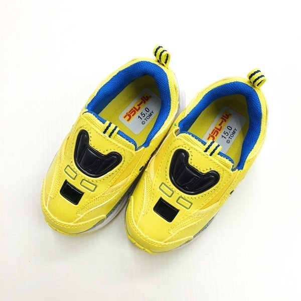 プラレール スニーカー 靴 新幹線 電車 キッズ マジックテープ スリッポン 子供 キャラクター fashionichiba-sanki 11