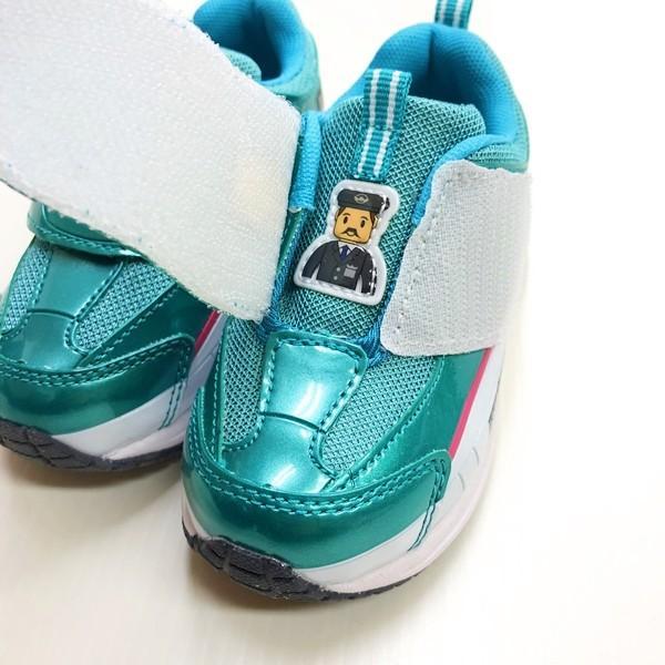 プラレール スニーカー 靴 新幹線 電車 キッズ マジックテープ スリッポン 子供 キャラクター fashionichiba-sanki 03