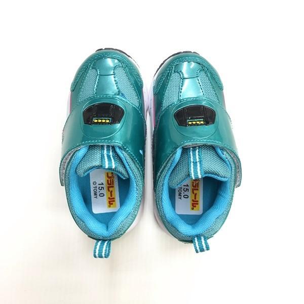 プラレール スニーカー 靴 新幹線 電車 キッズ マジックテープ スリッポン 子供 キャラクター fashionichiba-sanki 05
