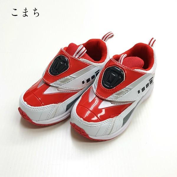 プラレール スニーカー 靴 新幹線 電車 キッズ マジックテープ スリッポン 子供 キャラクター fashionichiba-sanki 06