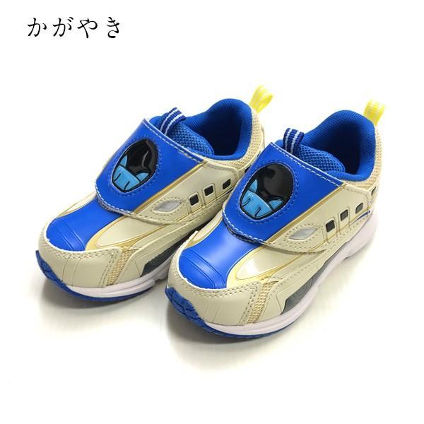 プラレール スニーカー 靴 新幹線 電車 キッズ マジックテープ スリッポン 子供 キャラクター fashionichiba-sanki 08