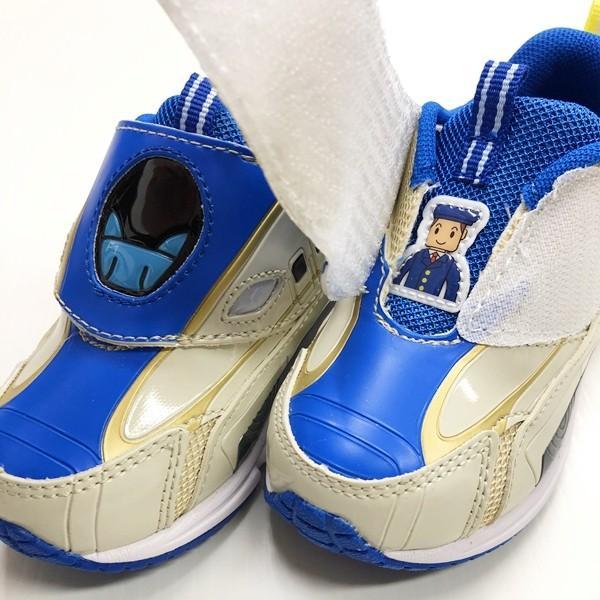 プラレール スニーカー 靴 新幹線 電車 キッズ マジックテープ スリッポン 子供 キャラクター fashionichiba-sanki 09
