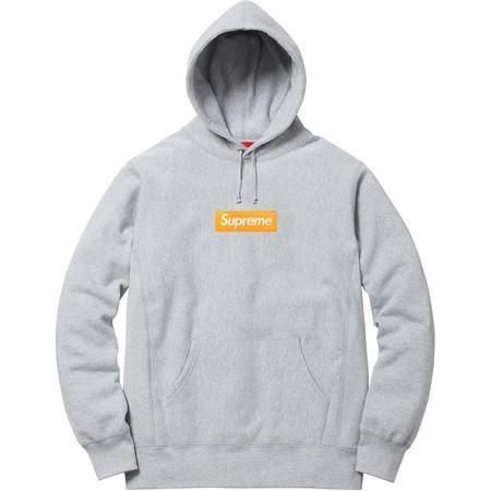 Supreme F//W 2017 Compact Logo Hooded Sweatshirt Size M Box Logo