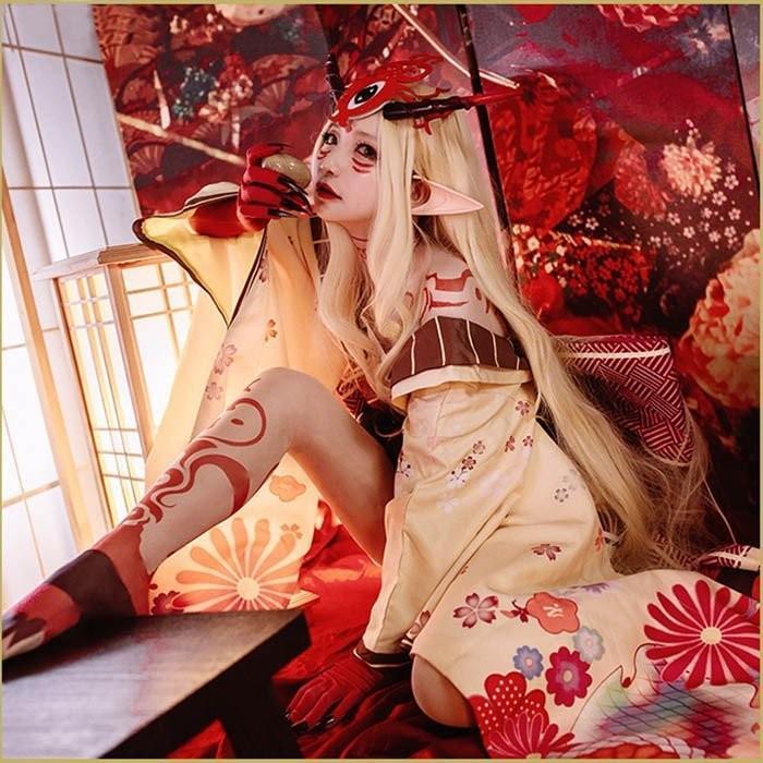 Fate/Grand Order FGO 茨木童子 いばらきどうじ Ibaraki Doji バーサーカー Berserker コスプレ衣装 COSPLAY コスチューム 学園祭 イベント 文化祭 仮装 変装