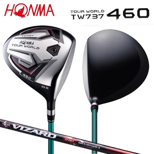 「土日祝も出荷可能」 ホンマ ゴルフ ツアーワールド TW737 460 ドライバー VIZARD EX-C 55 カーボンシャフト HONMA TOURWORLD