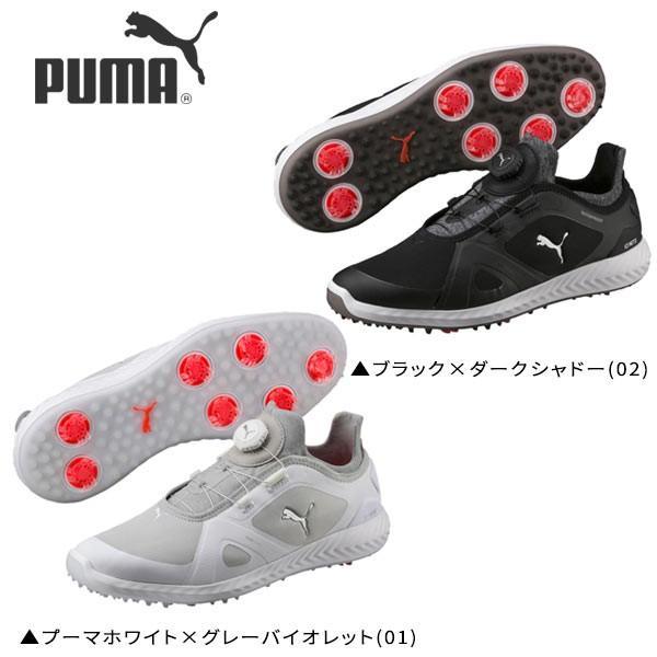 プーマ ゴルフ イグナイト パワーアダプト ディスク 190582 ソフトスパイク ゴルフシューズ PUMA IGNITE Power Adapter Disc PUMA IGNITE PWRADAPT DISC