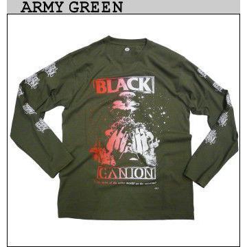 BLACK GANION オフィシャル UNDERWORLD OR UNIVERSE LONG T Shirt  ブラックガニオンロングTシャツ POPGROUP ハードコア ポップグループ グラインドコア BAND fatmoes 03
