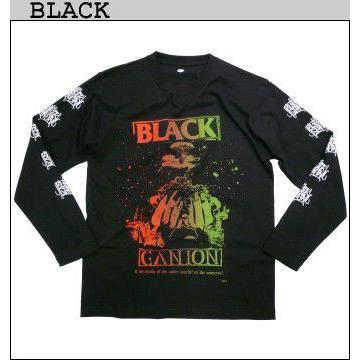 BLACK GANION オフィシャル UNDERWORLD OR UNIVERSE LONG T Shirt  ブラックガニオンロングTシャツ POPGROUP ハードコア ポップグループ グラインドコア BAND fatmoes 04